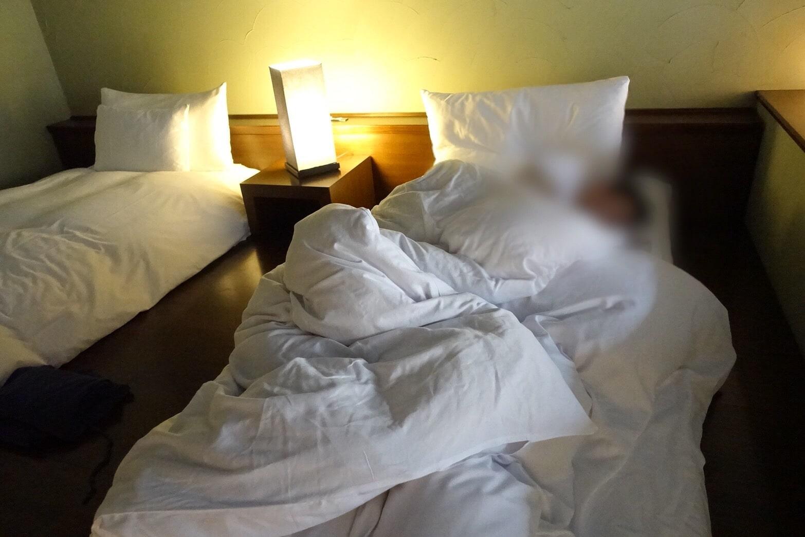 星のやベッドの寝心地