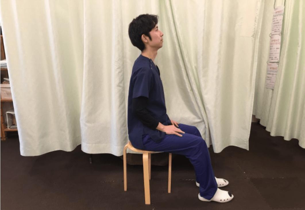 座ったままできる腰痛ストレッチ(骨盤体操ストレッチ)