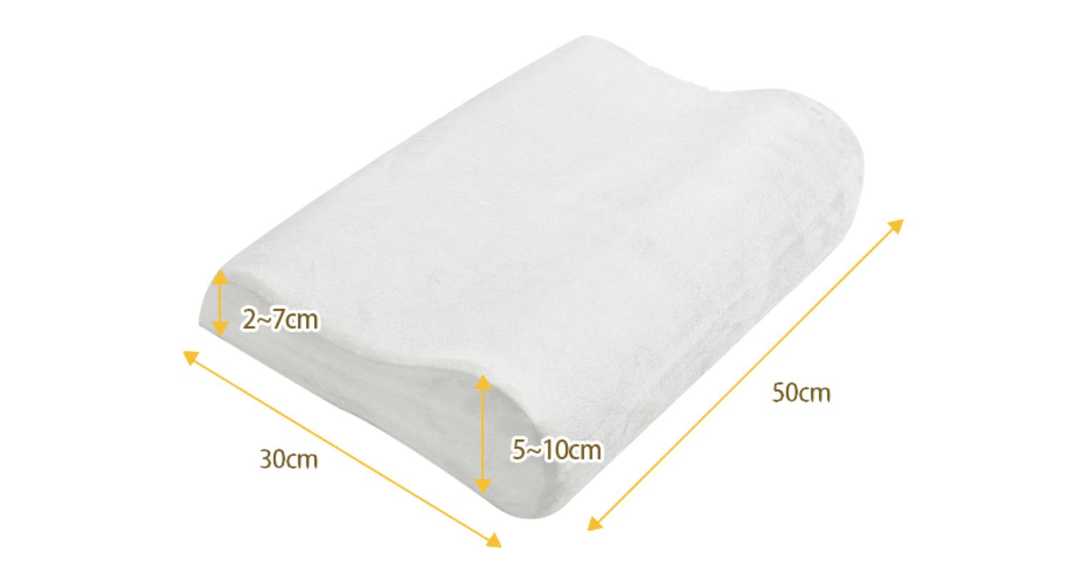 めりーさんの高反発枕のサイズ